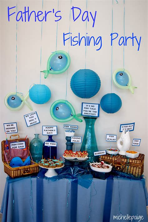 Decorations For Fathers Day by S Day Fishing Theme Chickabug