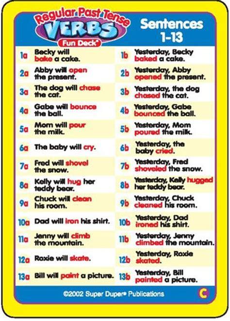irregular past tense verb cards organized by pattern of change regular past tense verbs and irregular verbs fun deck