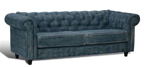 denim chesterfield sofa gorgeous unique blue denim chesterfield tufted sofa new 85