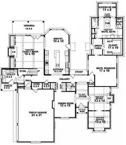 5 Bedroom 3 1 2 Bath Floor Plans by 654271 2 Bedroom 2 5 Bath House Plan House Plans
