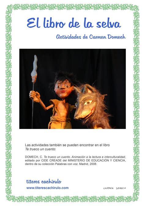 el libro de actividades el libro de la selva portada actividades el libro de la selva t 237 teres cachirulo
