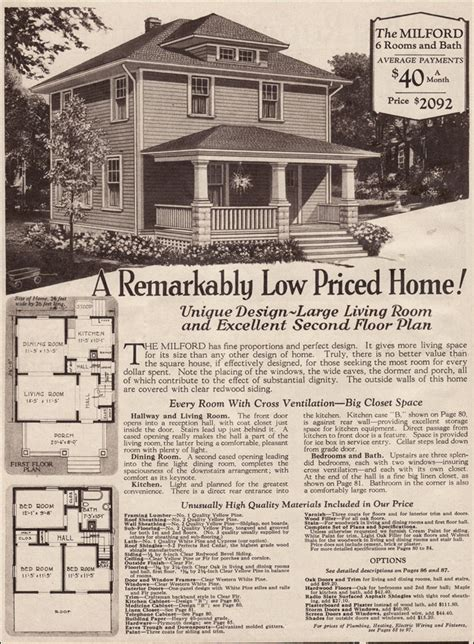 montgomery ward house plans 1930 traditional foursquare milford montgomery ward kits