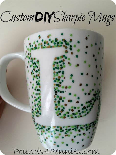 personalized crafts personalized mugs diy sharpie crafts
