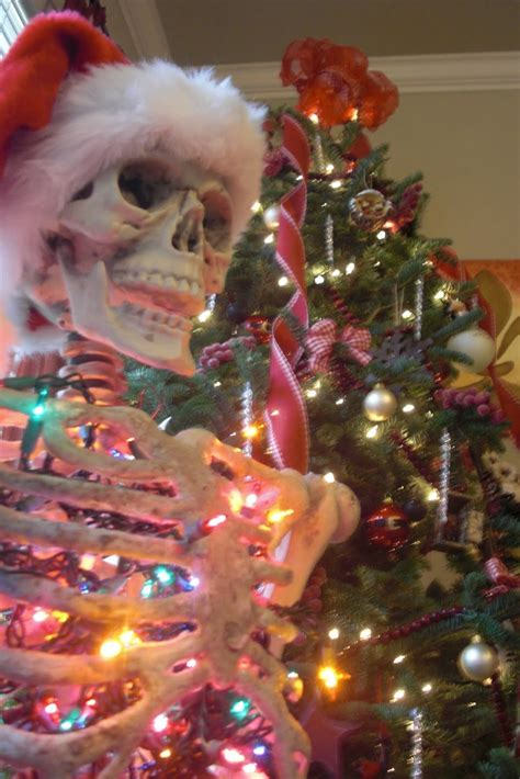 christmas tree skeleton