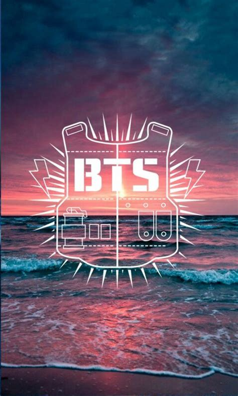 bts lockscreen wallpaper bts logo lockscreen background k pop amino