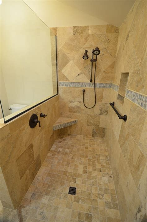 doorless showers for small bathrooms doorless shower