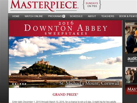 Downton Abbey Sweepstakes - the masterpiece 2016 downton abbey sweepstakes