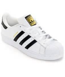 Adidas Superstar Shoes Black Adidas Adidas Superstar White Black Womens Shoes