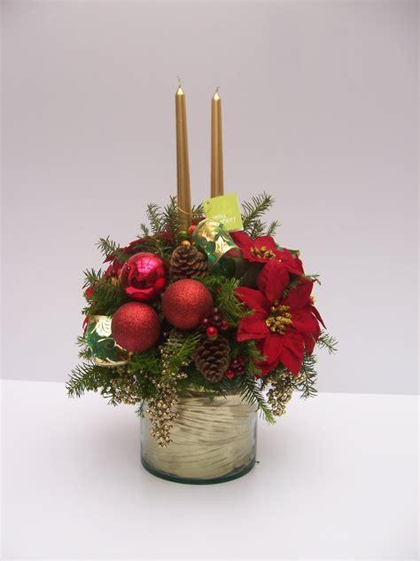arreglos florales navide241os centros de mesa navide 241 os con flores