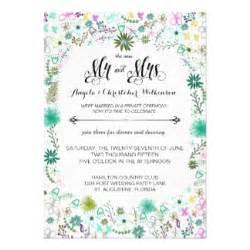 post wedding reception invitations announcements zazzle