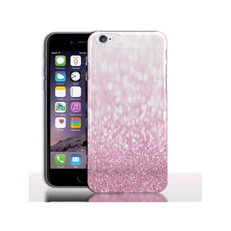 coque iphone 7 paillettes roses 4 7 rigide silicone strass protection bumper apple