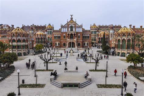 barcelona que ver the hospital de sant pau what to visit in barcelona