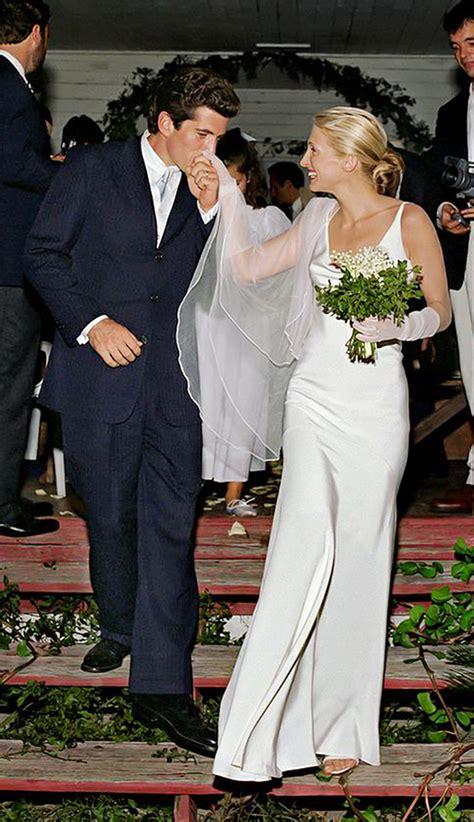 carolyn bessette kennedy wedding the 18 best celebrity wedding dresses of all time