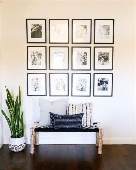 modern family decor family gallery wall living rooms black white unique
