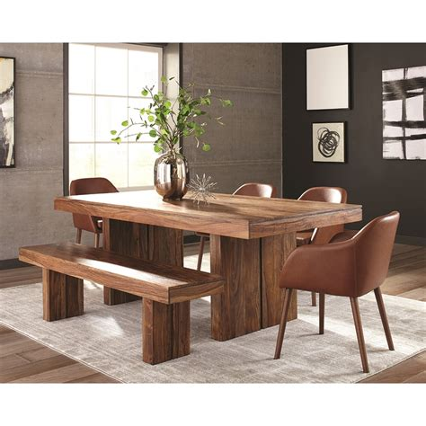 Sheesham Wood Dining Tables Shop Living Honey Sheesham Wood Dining Table At Lowes