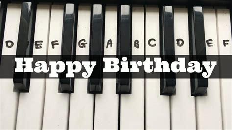 keyboard number tutorial happy birthday easy keyboard tutorial with notes right