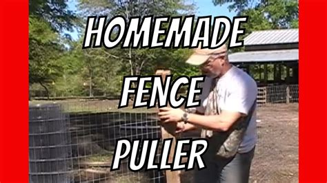 How To Build A Pig Barn How To Pull Fence Homemade Help Youtube