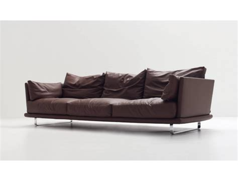 low sofa nest large triple sofa high back low arms arflex