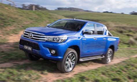 toyota hilux 2016 toyota hilux unveiled on sale in australia in
