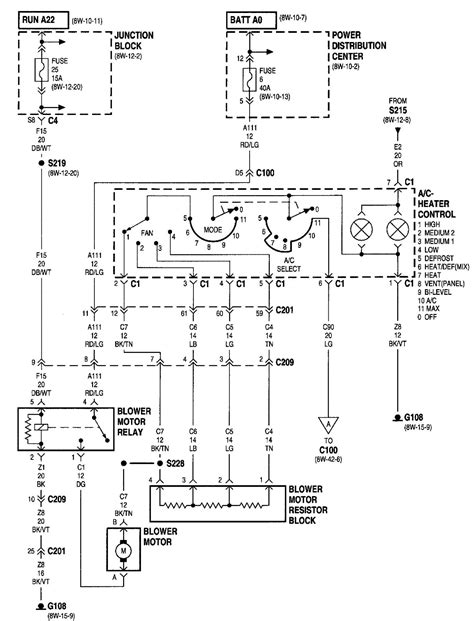 2000 jeep i need a air con wiring diagram