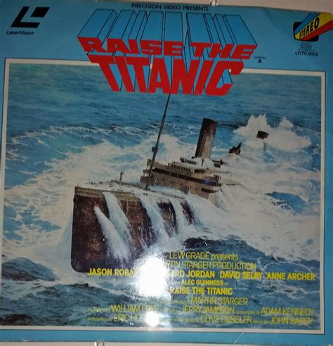 film titanic released uk clive cussler book collecting raise the titanic movie