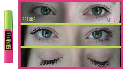 maybelline great lash mascara impressions