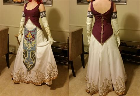 zelda pattern dress twilight princess zelda by azayakachan on deviantart