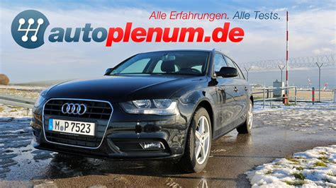 Audi A4 Autoplenum audi a4 avant b8 test 2007 2015 autoplenum de youtube