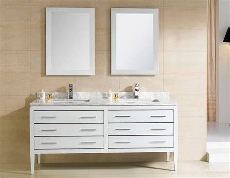 bathroom sink vanities 60 inch adornus camile 60 inch modern sink bathroom vanity white finish