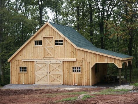 Sheds And Stables by Amish Built Modular Barns And Stables