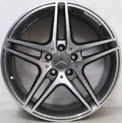 18 inch genuine mercedes c63 amg 2012 model alloy