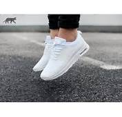 Nike Air Max Thea Triple White Png Pictures To Pin On Pinterest