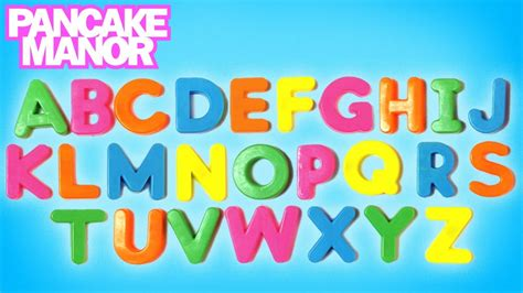 Letter Song alphabet song for pancake manor