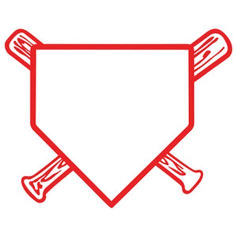 plat home baseball home plate stencils cricut