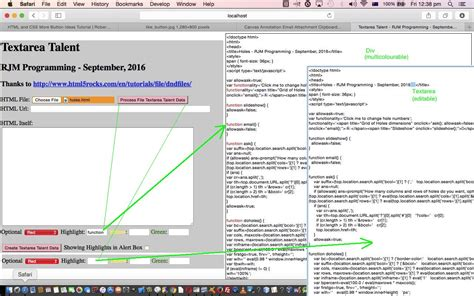 html textarea pattern html textarea and div talents primer tutorial robert