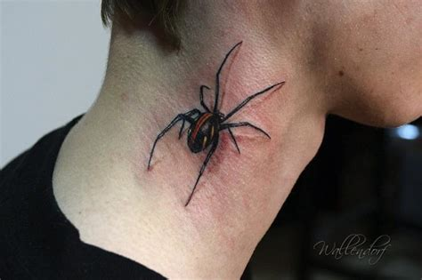 neck tattoo spider 1000 images about spiders and tats on pinterest