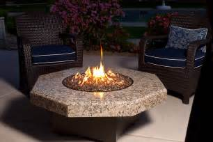 Table With Firepit Oriflamme Table Uniquely Designed Table For An Exceptional Outdoor Experience