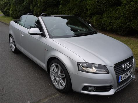 Audi A3 Cab by Used Silver Metallic Audi A3 Cab For Sale Surrey