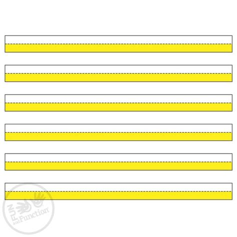printable writing paper for visually impaired brightlines raised line paper highlighted handwriting