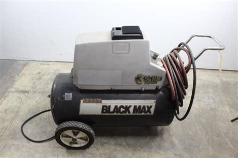 sanborn black max air compressor property room