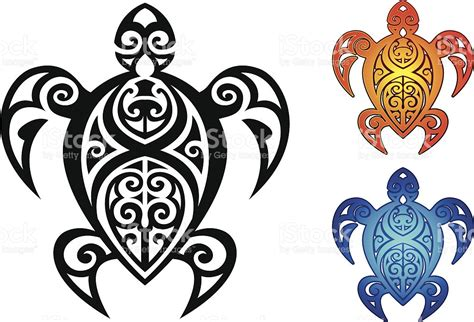 tribal turtle stock vector art amp more images of animal