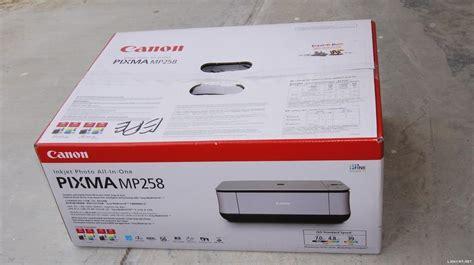 reset printer canon mp258 using software canon pixma mp258 driver software driver download