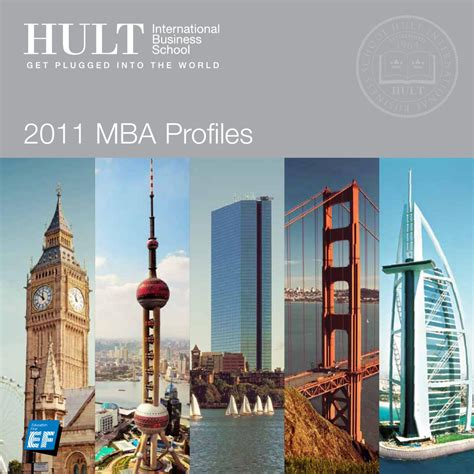 Hult 1 Year Mba by Hult Mba Class Profiles 2011 By Hult International