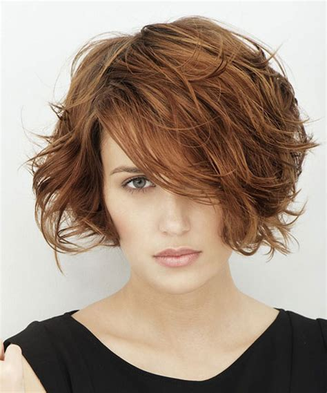 hairstyles for curly and messy hair 30 easy short hairstyles for thick wavy hair cool