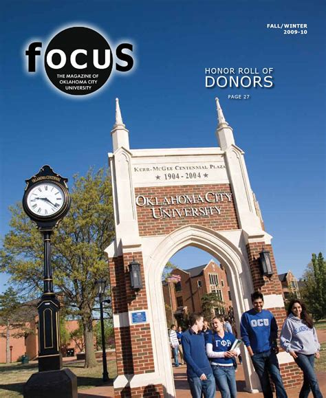 Ocu Mba by Focus Magazine Winter 2009 By Oklahoma City