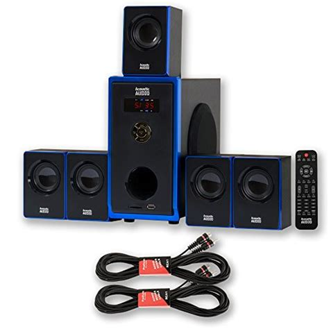 review acoustic audio aa5102 home theater 5 1