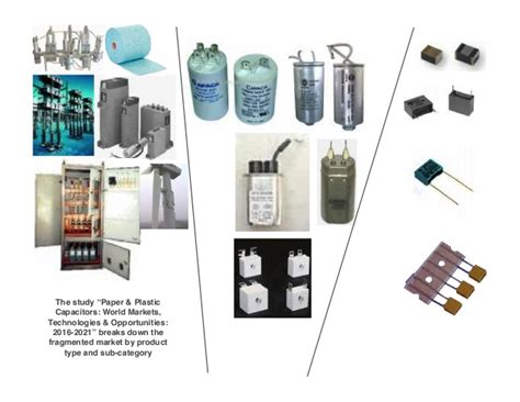 polypropylene paper capacitor paper plastic capacitors world markets technologies opport