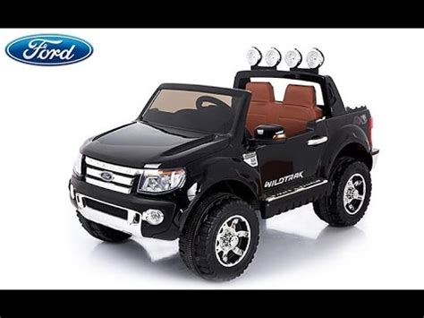 camioneta 4x4 a bateria ford ranger wildtrak licenciada