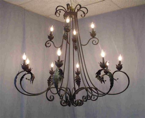 kronleuchter eisen wrought iron antler chandeliers lighting rustic