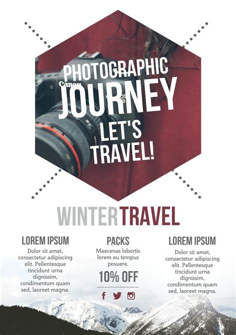 travel blog a5 promotional flyer http premadevideos com